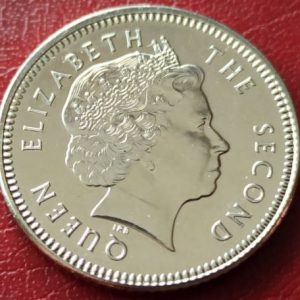 10 пенсов, Фолклендские острова, 2004