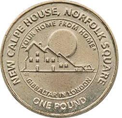 1 фунт, Гибралтар, Calp House, 2018