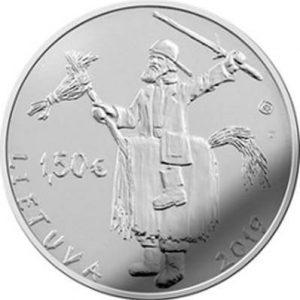 1,5 евро, Литва, 2019, Ужгавенес – литовская масленица