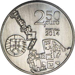 2,5 евро, 2014, Коимбрский университет, Португалия