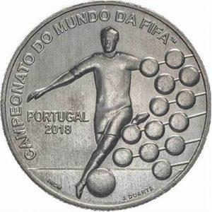 2,5 евро, 2018, Чемпионат мира по футболу, Португалия