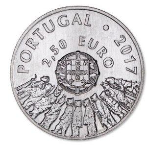 2,5 евро, Карнавал Карету в Траз-уш-Монтиш, 2017, Португалия