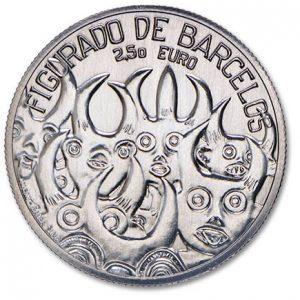 2,5 евро, 2016, Керамика из Барселуш, Португалия
