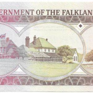 20 фунтов, Фолклендские острова, 2011